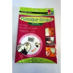 Poch. plastique dingue blanc 262*202 mm