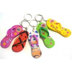 Porte-clés tong 8.5 cm