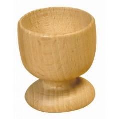 Coquetier bois diamètre 45 x 70 mm Bois - Rotin -Macramé 0,66 €
