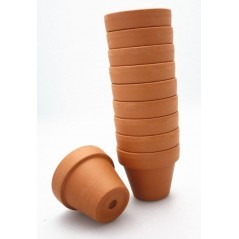 Pot en Argile hauteur 5cm lot de 10