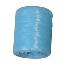 Raphia synthétique environ 70 m Bleu clair