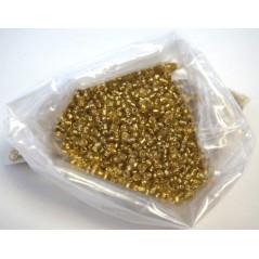 Perles ROCAILLE OR Sachet de 50 grs