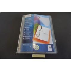 cahier classeur plastique l'unité