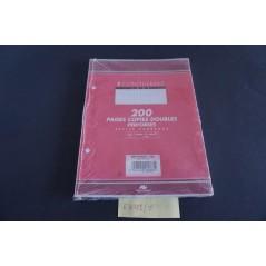 Lot de 5 x 200 copies dles perf. 17x22 - 5x5 -