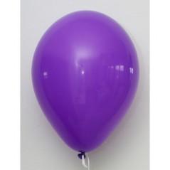 Ballons violet diam 30 cm Sachet de 100