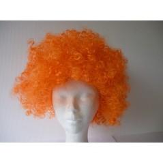 Perruque petite AFRO Orange