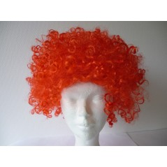 Perruque petite AFRO Rouge