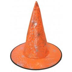 Chapeau sorcière araignée orange Halloween 1,99 €
