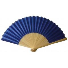 Eventail tissu bleu marine Accessoires 0,99 €