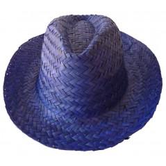 Chapeau australien bleu