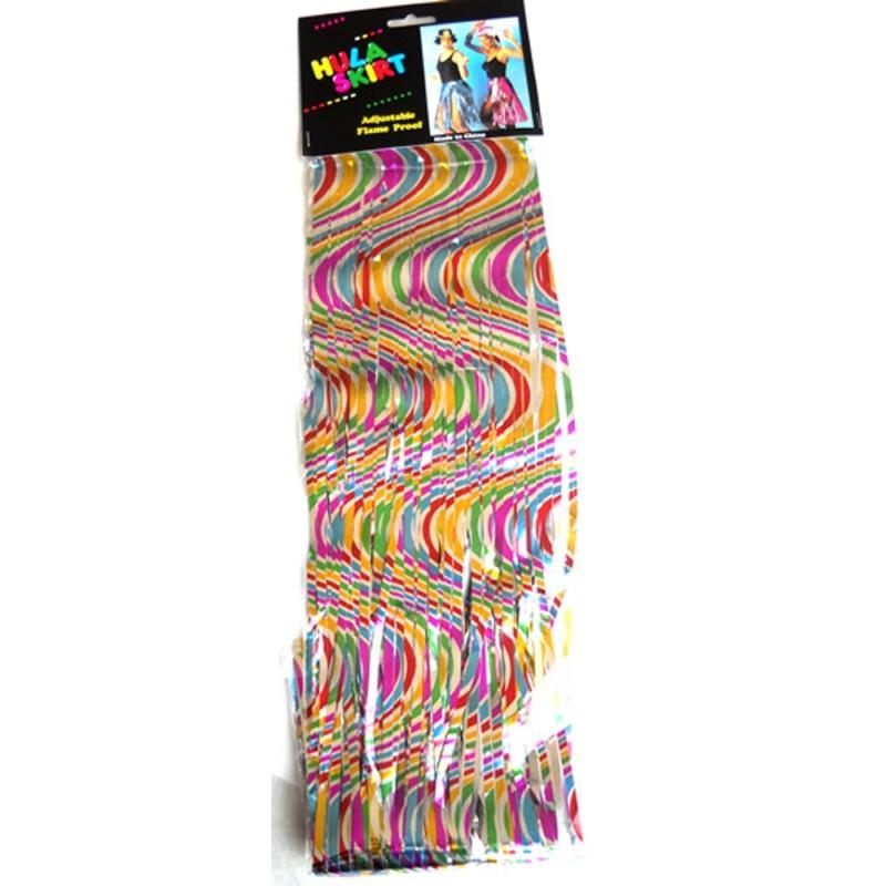 Jupe Hawai Métallisé couleurs assorties l'unit Articles Evènementiel 1,99 €