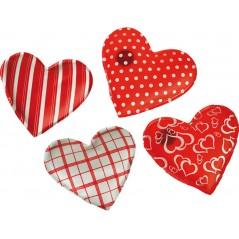 Coeur chauffe main 10 cm (4 modèles assort.)