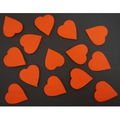 Confetti de scène coeur rouge le kg