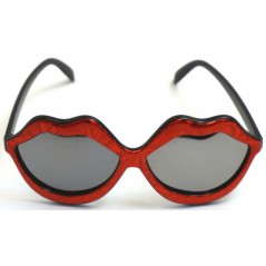 Lunette bouche avec verres miroir