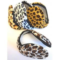 Cache oreilles léopard (coloris assortis) Accessoires 1,15 €