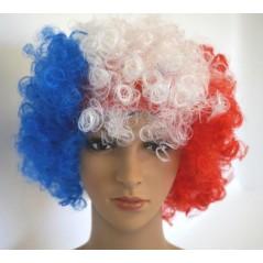 Perruque tricolore bouclée Perruques 3,30 €