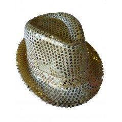 Borsalino avec Sequins OR
