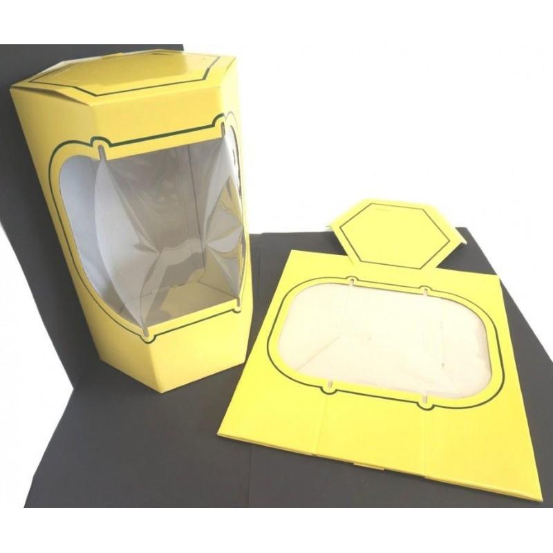 Boite Cadeau hexagonale Bonnes affaires 0,80 €