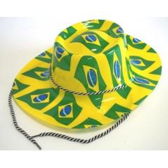 Chapeau Cowboy Brésilien avec drapeau Chapeaux 0,99 €