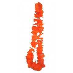 Collier Hawai tissu Orange Flashy Flashy 0,72 €