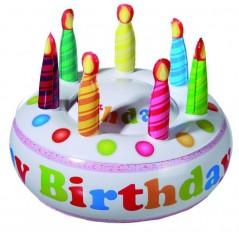Gâteau Anniversaire Gonflable 27 cm Anniversaire 4,03 €