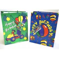 Lot de 5 sacs anniversaire B 23