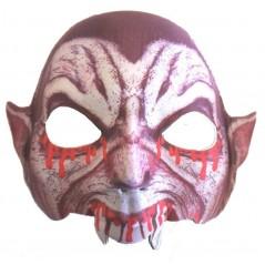 Masque Vampire tissu rigide avec élastique
