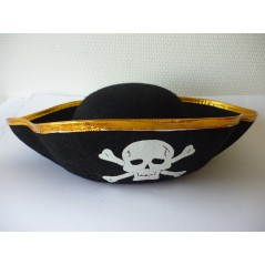 Lot de 24 chapeaux Pirate