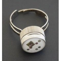 Bague réglable magnet Bleu Accessoires 0,60 €
