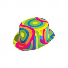 Chapeau haut de forme flashy