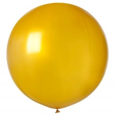 Ballon géant rond diam 80 cm OR