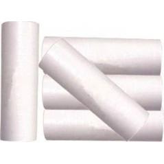 Rouleaux de serpentins blanc luxe carton de 50