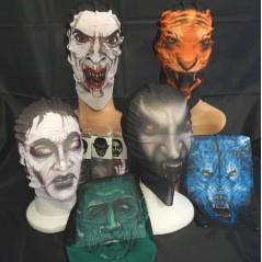 Masque cagoule modèles assortis