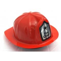 Casque de pompier soirée prevention, casque de pompier