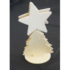 Sapin/ étoile à décorer