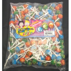 Sucettes caméléon gum (les 200) Confiseries 12,82 €