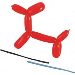 Ballons saucisse à modeler 90 cm GM ass.100