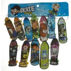 12 Porte-clés Skateboard 10 cm