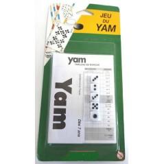 Jeu de Yam+ bloc sous blister