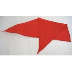 Foulard de marquage rouge 82x57cm