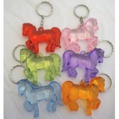 12 Porte clés Cheval cristal 3.5x4.5 cm Porte-clés 3,96 €