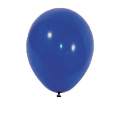 Sachet de 10 ballons Bleu diam 30