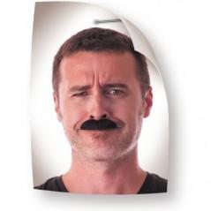 Moustache dalton noire