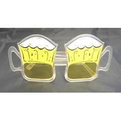 Lunette chope de bière