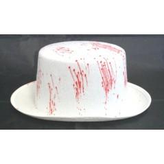 Chapeau haut de forme sang
