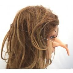 Nez sorcière plastique avec élastique Halloween 0,92 €