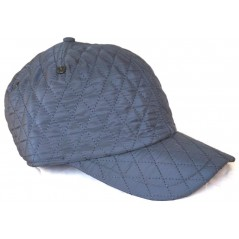 Casquette hiver doublée/matelassée Bleu marine