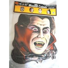 4 découpes carton décoration halloween Décoration 1,00 €