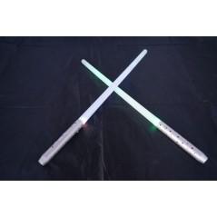 Epée lumineuse multifonction 45 cm Lot de 24