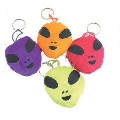 Peluche Alien PC 9 x 8 cm (coloris assortis)